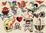 Tattoo Prints by badeyedeers