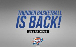 Oklahoma City Thunder Wallpaper by IshaanMishra