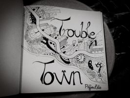 Trouble Town doodle - Jake bugg by PoffinLetus