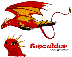 Smoulder the Pyrewhip by ShadOBabe