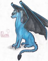 Raya My dragon character by LionessNala