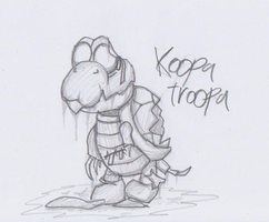 Mario Creepy Enemies #12: Koopa Troopa by nick3529