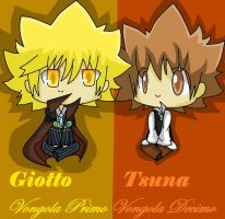 Giotto and Tsuna by rika0225