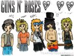 Guns N' Roses Doodle by Teaphotography07