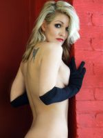 Dani Long Black Gloves by Snapfoto