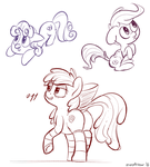 CMC sketches by zapplebow