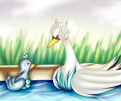 The water's sweet by DyeDy