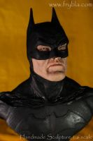 Batman action figure miniature sculpture by frybla by frybla