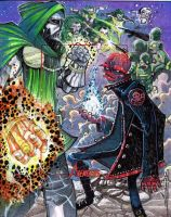 Doctor Doom and Red Skull AP by JeremyTreece