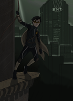 Robins Reverse: Gotham a Talons Perch by InsaneMonkey46