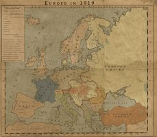 Europe at 1919 by MarcosCeia