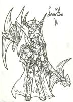 EverLine War Pic: Uncoloured by xxxBrokenSoulxxx