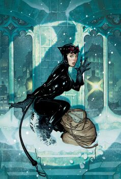 Overstreet Catwoman by AdamHughes