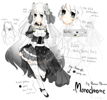 [CLOSED] Monochrome Rose [Auction] by aririzia
