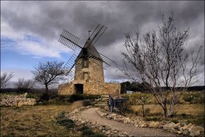 Moulin Villeneuve Minervois by didiero