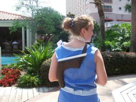 Sokka Cosplay - Back View by LindyArt