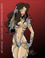 Asami the Witchblade by Inspector97