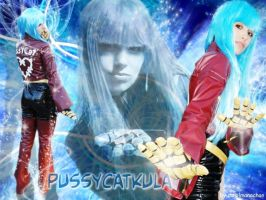 Simone as Kula Diamond by carolmanachan