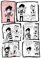 Mimes and clows again by Lady-Fayble