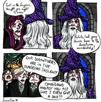 Harry Potter: TROLL IN THE DUNGEONS by InsaneCree
