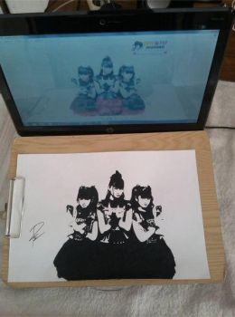 Drawing Babymetal by Raih4n