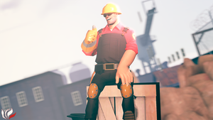 Team Fortress 2 (TF2) - engineer by ViewSEPS