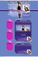 Layout Miley cyrus by anime1991