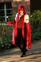 Grell Sutcliff: At your service by chibinis-chan