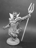 Daimon Hellstrom Mini-bust 1 by No-Sign-of-Sanity