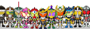 Armored Riders by Thunder025