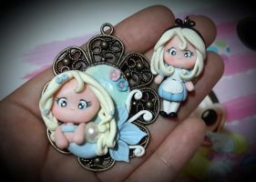 Elsa Mermaid Cameo + Alice project by Vnee