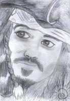Jack Sparrow by Ami-sensei
