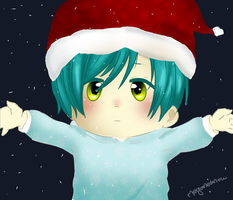 Christmas Toby! by MeganeSnow
