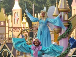 Blue Fairy, Fairy Godmother by bellesprince