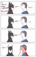 How to make superman blush by Travellerkino