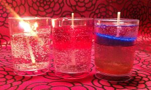 Homemade Gel Candles by IPD513