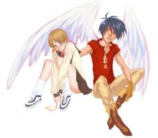 Escaflowne Collab by curry23