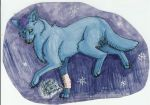 Art trade with Silverfang98 by SpiritInSpace