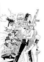 The tinkle of gun shells. by Goldmanpenciler