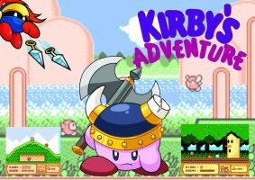 Kirby's Adventure Poster by shadow306k