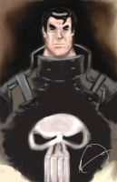 Punisher War Zone--Painted by Moebocop