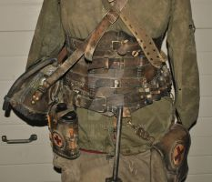 wasteland medic leather outfit by Lagueuse