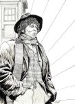 Tom Baker - The 4th Doctor by DocRedfield