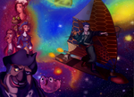 Treasure Planet - In the Galaxy by NinaChan13