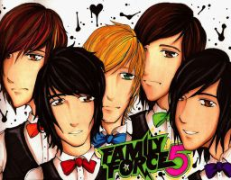 Family Force 5 by KyogrePrincess16