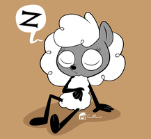 Sleepy Sheep by Bickpixx