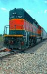 BNSF 3160 by clippercarrillo