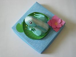 frog-papercraft -again- XD by Master-Kankuro