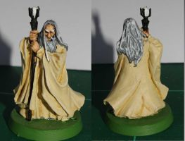Saruman - Lord of the Rings by SarienSpiderDroid