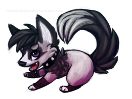 Chibi Commission - CuddlyKeanu by Bowtiefoxin